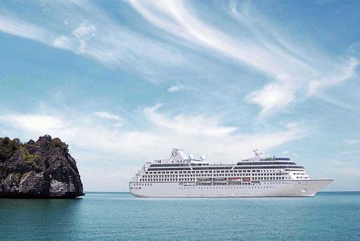 Oceania-Nautica-exterior - Experience a luxury cruise on the newly refurnished Oceania Nautica.