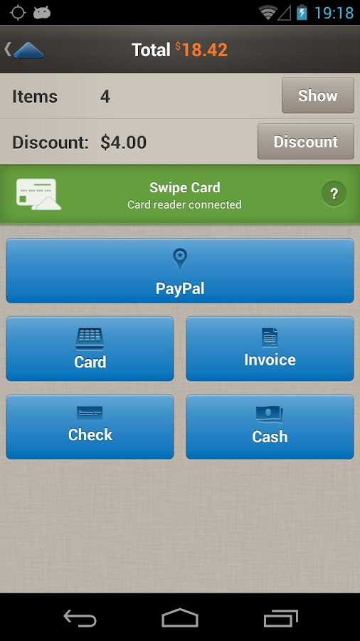 PayPal Here: Get Paid Anywhere - screenshot