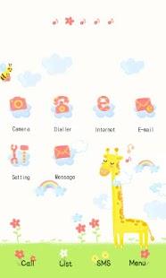 CUKI Theme Happy Giraffe