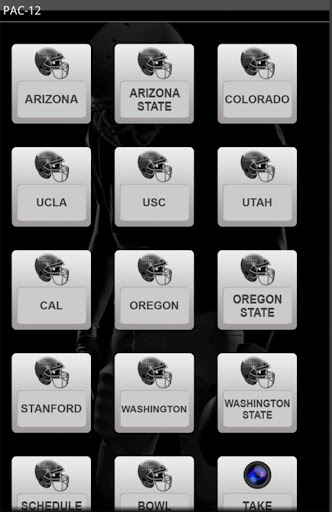 2013 PAC-12 Football Schedule