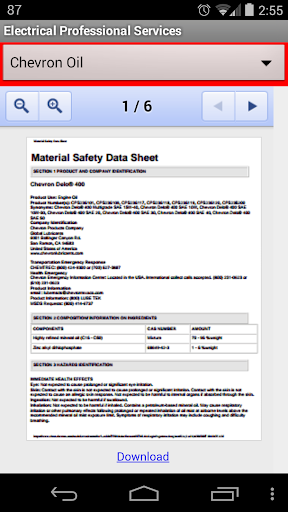 EPS Safety Data Sheets