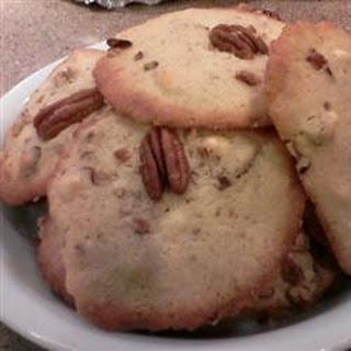 White Chocolate Chunk Pecan Cookies.