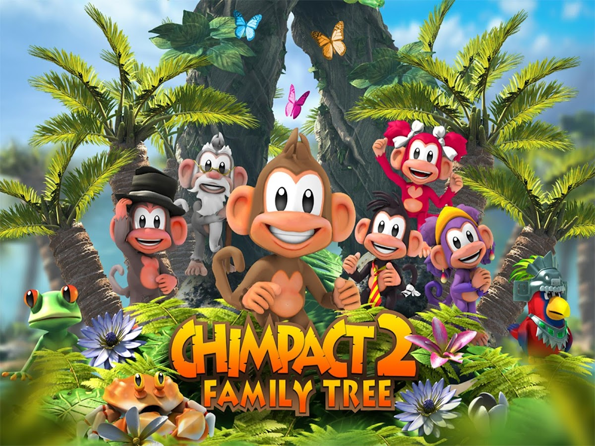Chimpact 2 Family Tree- screenshot