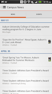 Official Auburn University App - screenshot thumbnail