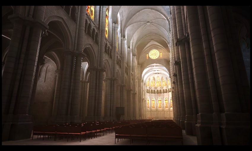 The Cathedral by Patapom   Experiments with Google