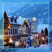 Winter Streets live wallpaper