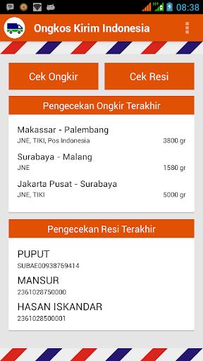Ongkos Kirim Indonesia