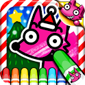 Wow! Christmas Coloring Book icon