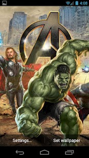 The Avengers Live Wallpaper - screenshot thumbnail