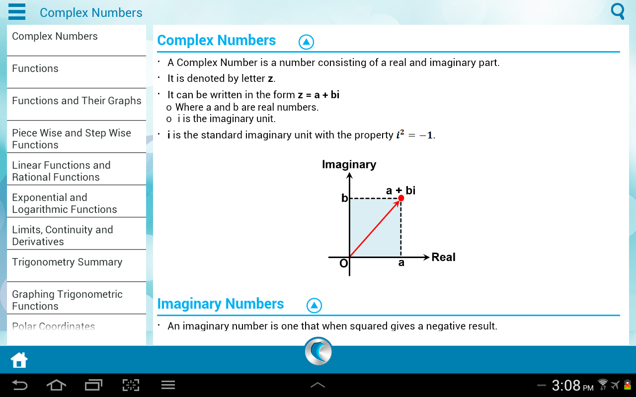 Pre-Calculus by WAGmob - screenshot
