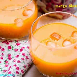Mango Slush Recipes.