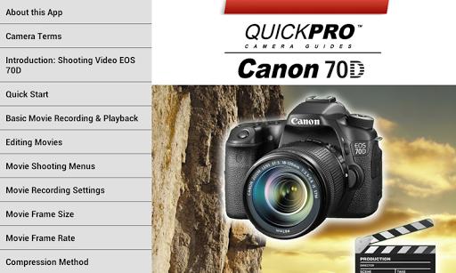 免費下載攝影APP|Canon 70D Shooting Video app開箱文|APP開箱王