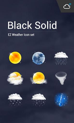 高解析度高清晰度的精美寫實風格天氣圖標包