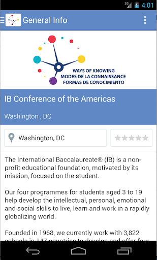IB Conference of the Americas