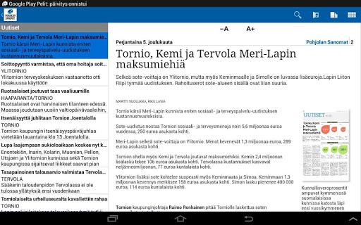 【免費新聞App】Pohjolan Sanomat-APP點子