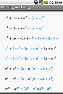 Algebra Cheat Sheet provides you with the quick reference of formulas ...