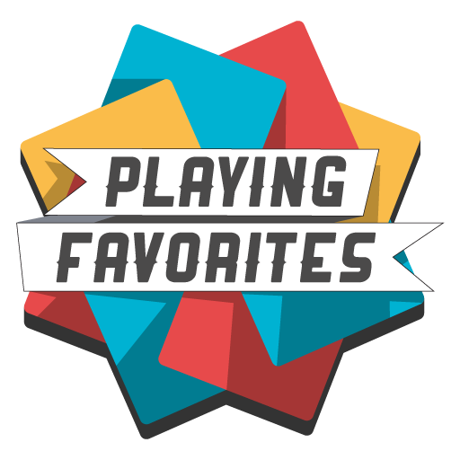 Playing Favorites: A Word TCG LOGO-APP點子