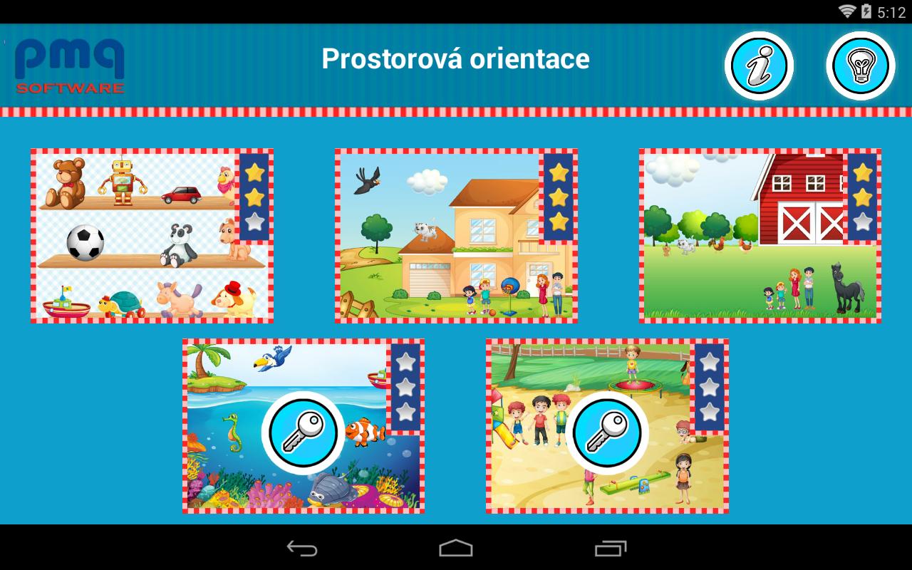Prostorová orientace - screenshot