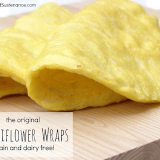 Cauliflower Wraps.