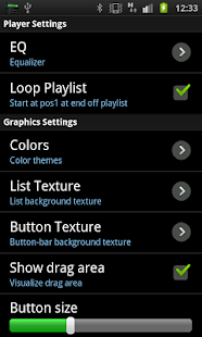 Trax Music Player- screenshot thumbnail