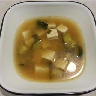 Quick and Simple Korean Doenjang Chigae (Bean Paste/Tofu Soup).