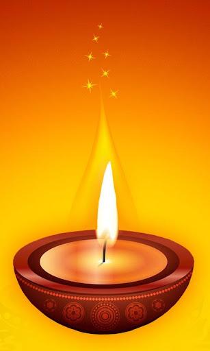Diwali Lamp Live Wallpaper