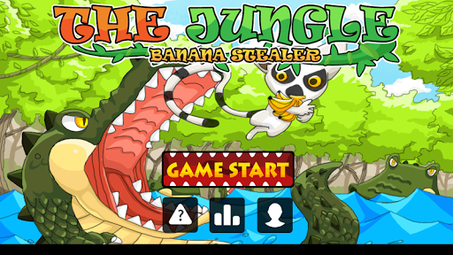 The jungle - banana stealer