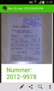 YOB Receipt - screenshot thumbnail