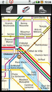 Paris Bus Metro Train Maps - screenshot thumbnail