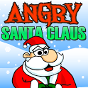 Angry Santa Claus icon