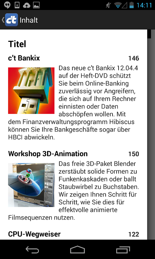 c't Magazin - screenshot