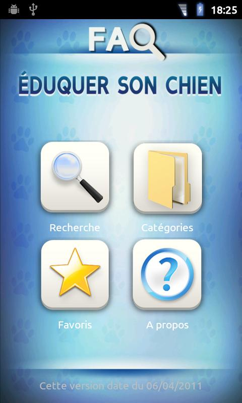 FAQ Eduquer son chien- screenshot