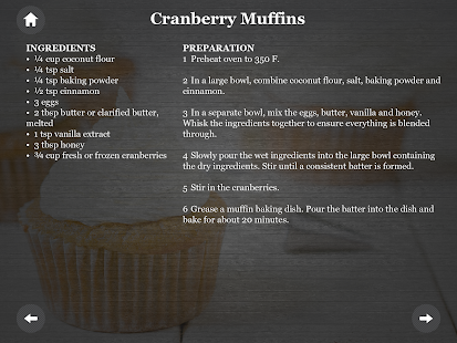 Paleo Diet Cake/Pastry recipes- screenshot thumbnail