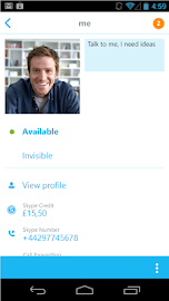 Skype - free IM & video calls Screenshot 2