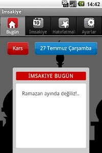İmsakiye screenshot 1