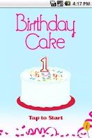 Screenshot of Happy Birthday Cake (free)