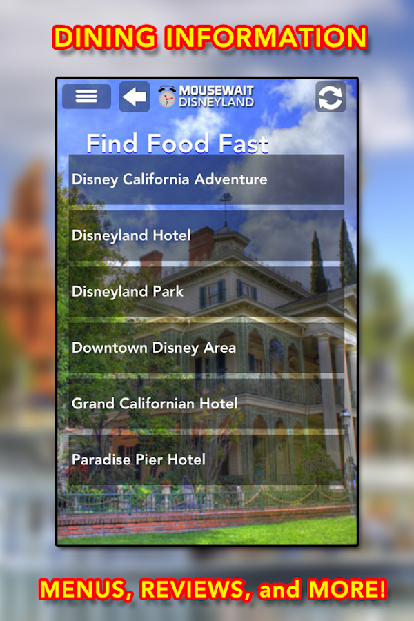 Disneyland MouseWait 7.0 FREE - screenshot