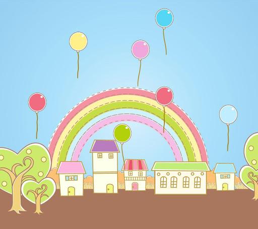 彩虹氣球 Live Wallpaper