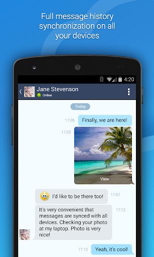 4talk Messenger 2.0.76 screenshots 1