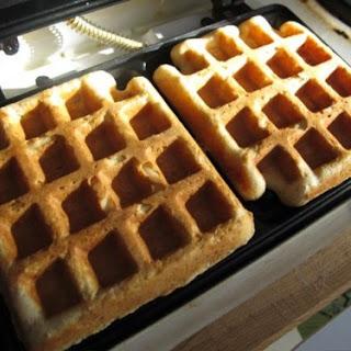 Crispy Waffles.