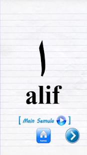 Mari Belajar Alif Ba Ta- screenshot thumbnail
