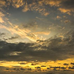 Pasir Panjang Sunset  by Stephen Ckk - Landscapes Sunsets & Sunrises