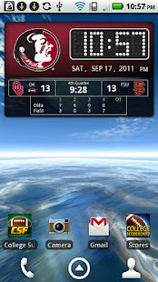 FSU Seminoles Live Clock - screenshot thumbnail