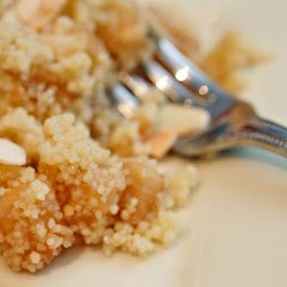 Sweet Apple Couscous.