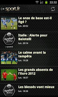 Euro 2012 foot - screenshot thumbnail