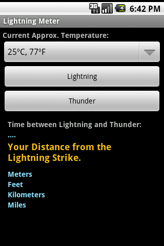 Lightning Meter - screenshot
