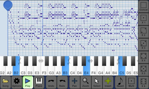MusePad screenshot