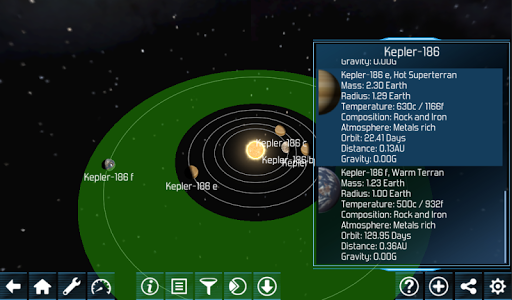 Exo planets Explorer 3D HD v2.515