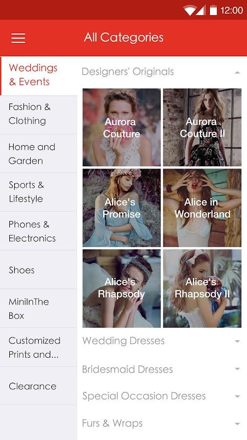 LightInTheBox Online Shopping - screenshot