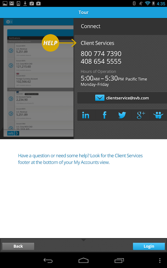 SVB Mobile Banking - screenshot